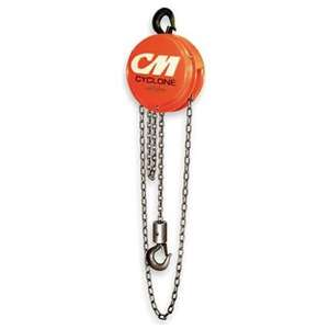 Cm Cyclone 4731 Hand Chain Hoist, Manual, Cap10T, Lift15Ft Be the