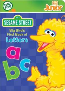 Tag Junior Sesame Street Big Birds First Book of Letters by LeapFrog