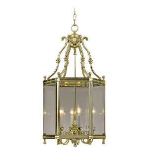 Windsor Collection Polished Brass 18 Wide Pendant Light