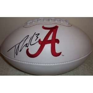 TRENT RICHARDSON SIGNED AUTOGRAPHED ALABAMA CRIMSON TIDE