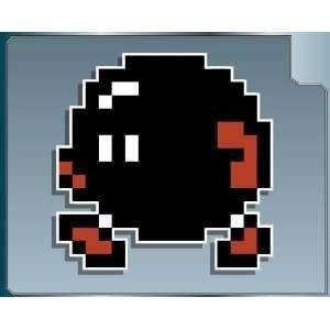 BOB OMB 8 bit from Super Mario Bros. 2 vinyl decal sticker