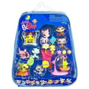 Littlest Pet Shop   10 Pack of Pets Asst 1 Toys & Games