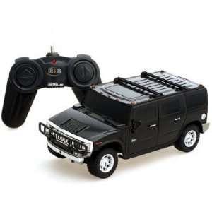 124 Scale hummer H2 SUV black Radio Remote Control Car