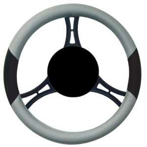 Elegant 11412 Wet Suit Material Steering Wheel Cover Fat