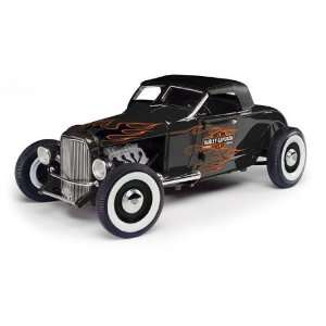 1929 Ford Hot Rod Harley Davidson 1/18 Diecast Car Model