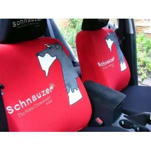 Schnauzer the Dog Universal Car Seat Cover   10pcs Full