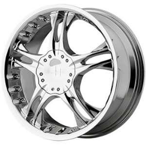 Helo HE829 17x7.5 Chrome Wheel / Rim 5x112 & 5x4.5 with a 42mm Offset