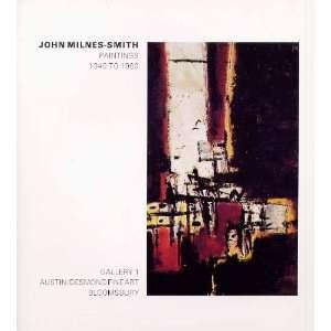 : John Milnes Smith Paintings 1949 1989: Marina (Essay) VAIZEY: Books