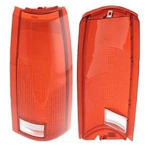 Tail Light Lens Fits Chevrolet Scottsdale/Cheyenne/Silverado/Tahoe