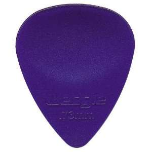Wedgie Clear XL Pick 6 Pack .73mm Purple WCPP73 6: Musical