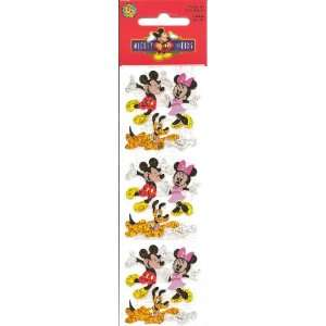 Disney Mickey Mouse Minnie and Pluto Sparkle Scrapbook