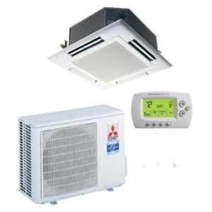 Split ductless PLA Series Ceiling Recessed Heat Pump 18,000 BTUs