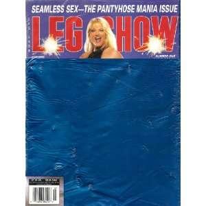 LEG SHOW JULY 2004: LEG SHOW MAGAZINE: Books