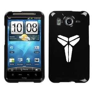 HTC INSPIRE 4G WHITE MAMBA KOBE LOGO ON A BLACK HARD CASE