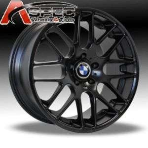 19 BLACK CSL BMW 128 135I COUPE SEDAN SPORT RIM WHEELS