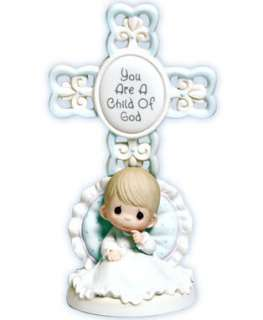 PRECIOUS MOMENTS Figurine YOU ARE A CHILD OF GOD Boy