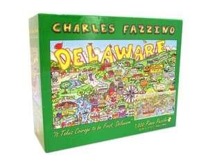 VACATION FAZZINO 1000 Piece PUZZLE by Andrews Blaine, Charles Fazzino