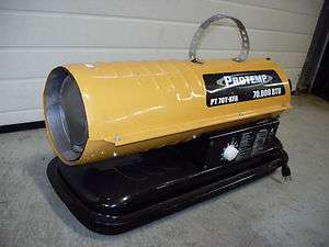 Protemp 70,000 BTU Forced Air Variable Temp Kerosene Heater