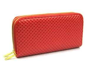 fashion large women lady zip around clutch purse wallet pu handbag 2