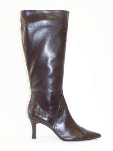 Vaneli Zida Womens Knee High Tall Boots Brown 9.5