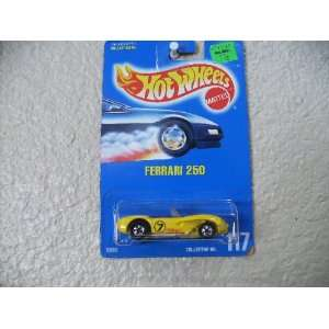 1991   Mattel   Vintage Hot Wheels   Ferrari 250   Yellow