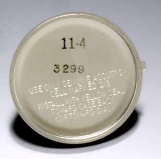 Accutron (Bulova Swiss) Mans Off Round Wrist Watch With Date, C. 1974
