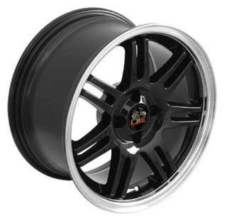 17 Rim Fits Mustang® 10th Ann 4 Lug Wheels Black