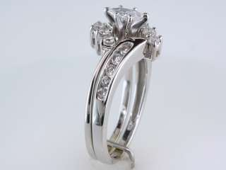 Zales / Kay 1/2ct G SI1 Diamond 14K White Gold Engagement Ring Bridal
