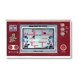 Nintendo Marios Cement Factory Game & Watch HandHeld Toys & Games