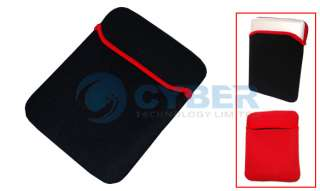 10 Laptop Notebook Protection Sleeve Case Soft Bag Double side