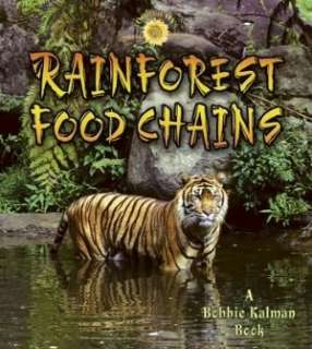 BARNES & NOBLE  Rainforest Food Chains by Molly Aloian, Crabtree