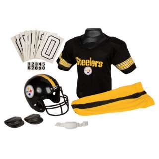 Pittsburgh Steelers Kids/Youth/Boys Deluxe Football Helmet/Jersey