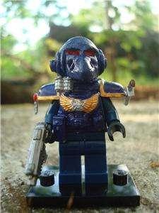 CUSTOM LEGO MINIFIG WARHAMMER SPACE MARINE 2 EXCLUSIVE