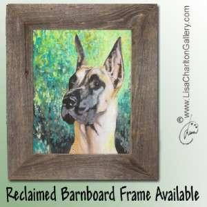 ORIGINAL Painting Pet Portrait Dog Cat Bird Horse Animal Artist Lisa