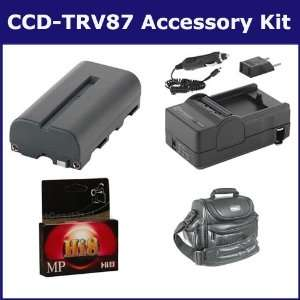 Sony CCD TRV87 Camcorder Accessory Kit includes HI8TAPE