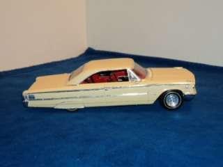 Vintage AMT 1963 Ford Galaxie 500XL 500 XL 1/25 Scale Built Model Kit