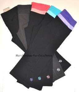 TUFF ATHLETICS Gym CAPRI Yoga Pants flower New XS XL