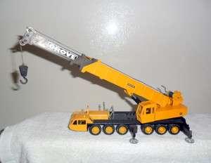 NZG TM1500 GROVE 6 AXLE/3 BOOM MOBILE CRANE 1/55