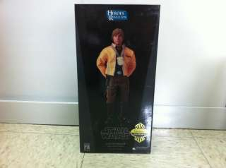 Wars Sideshow Luke Skywalker Rebel Hero Yavin IV Exclusive 1/6 Figure
