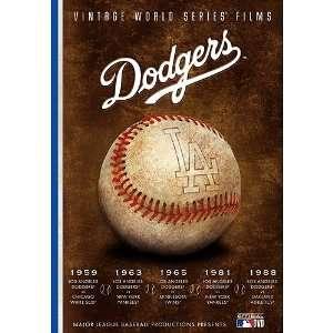 Angeles Dodgers Vintage World Series Films Dvd Set