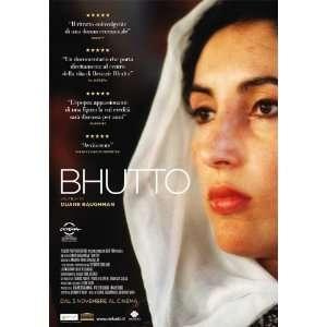 Bhutto Poster Movie Italian (27 x 40 Inches   69cm x 102cm