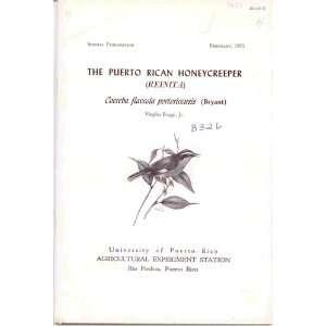 portoricensis (Bryant) (Special publication) Virgilio Biaggi Books