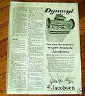 1961 Jacobsen Lawn Mowers Ad the New Dynacyl