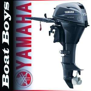 Yamaha Outboard Boat Motor 15HP 4 Stroke F15CPLH 2012 MODEL NIB