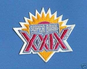 Super Bowl XXIX NFL Football Sports Patch 49ers