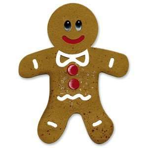 : Sizzix Originals GINGERBREAD MAN #2 Die RED: Arts, Crafts & Sewing