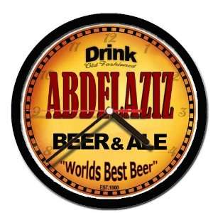 ABDELAZIZ beer and ale wall clock: Everything Else