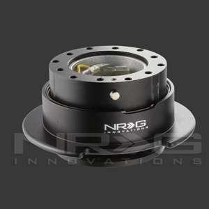NRG STEERING WHEEL QUICK RELEASE KIT GEN 2.5 BLACK BODY / BLACK RING