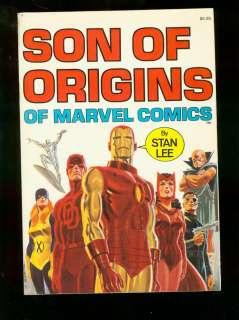 SON OF ORIGINS OF MARVEL COMICS STAN LEE IRON MAN X MEN
