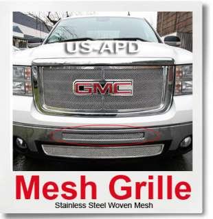 07 11 GMC Sierra 1500/07 10 2500HD/3500HD Denali Stainless Mesh Air